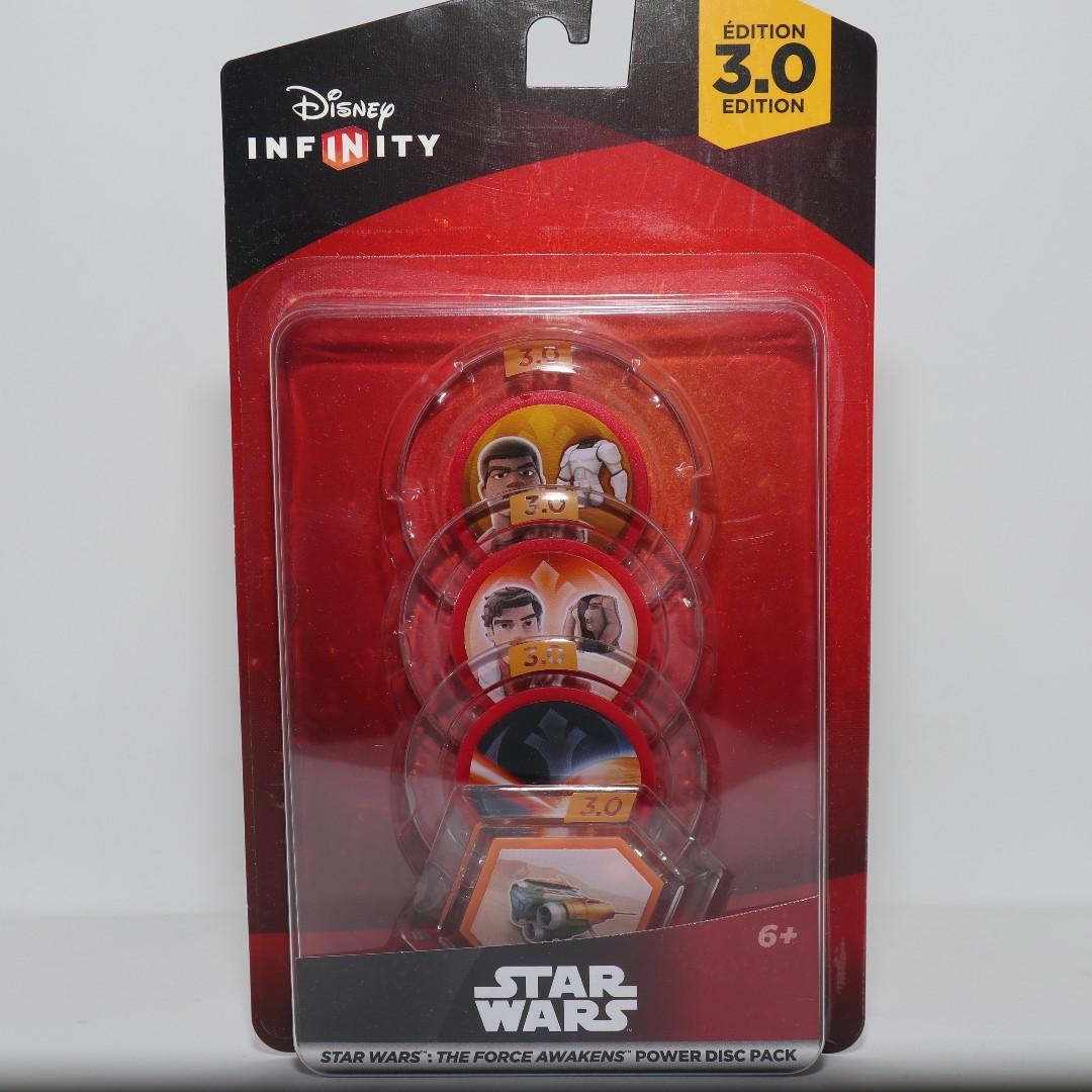 Disney Infinity Star Wars The Force Awakens Power Disc Pack
