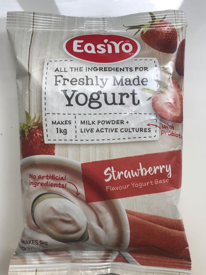Easiyo powders (various flavours)