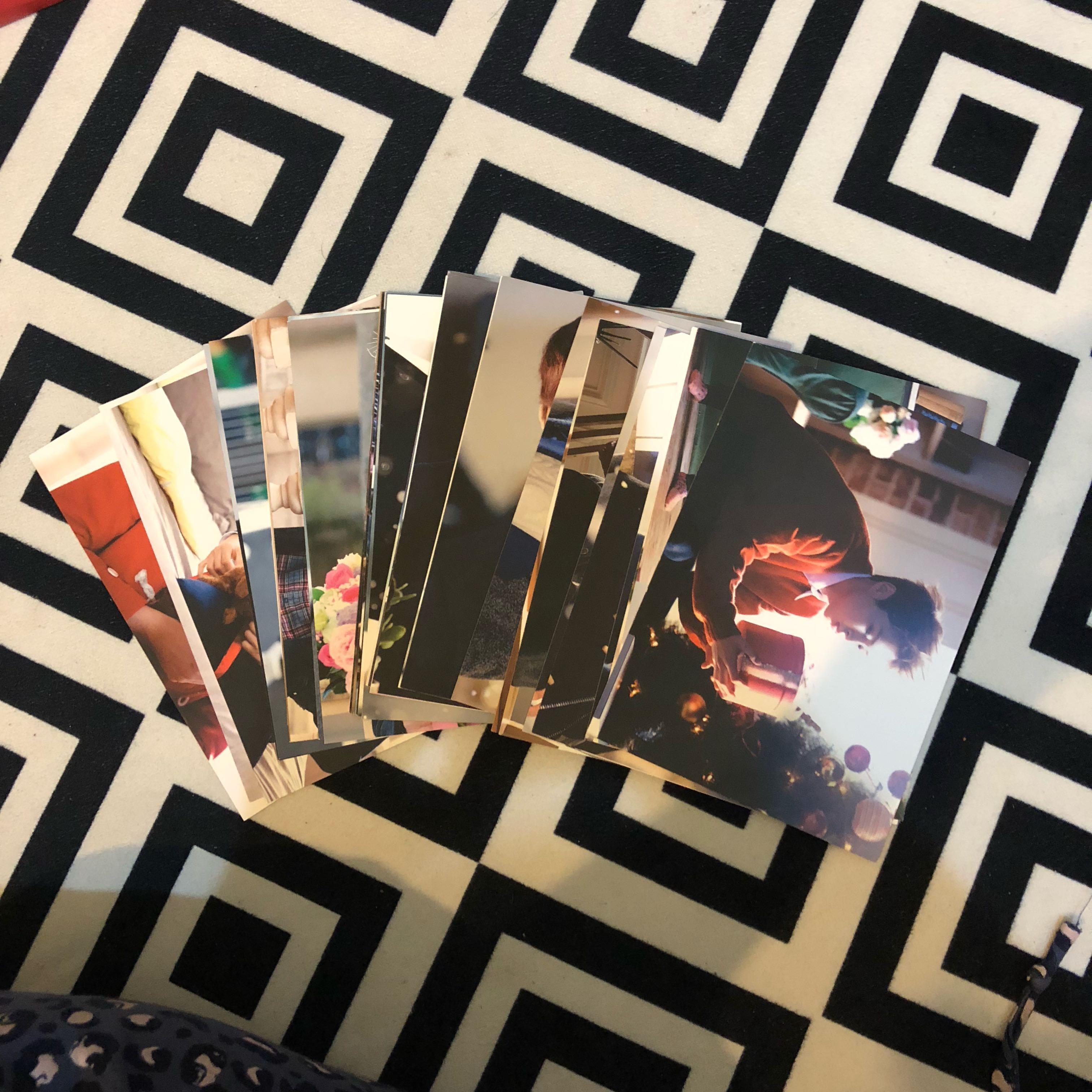 EXO Miracle in December Postcard Set (Music Video ver.)