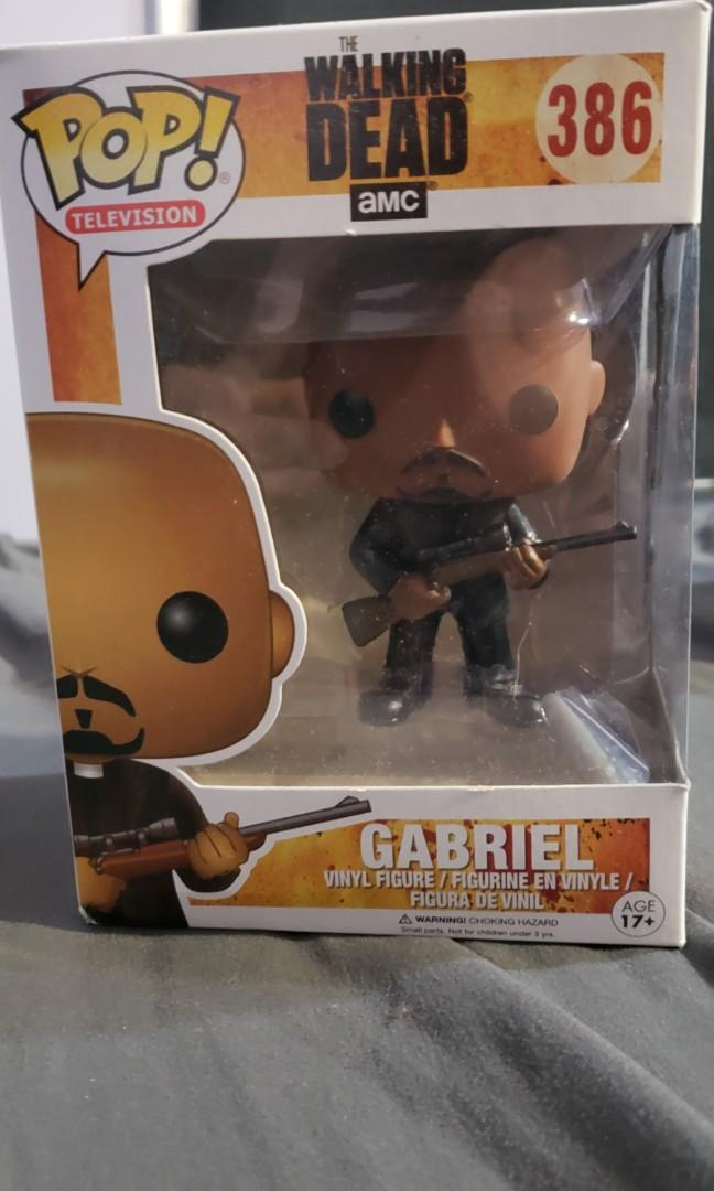 Funko POP Television: The Walking Dead - Gabriel Action Figure