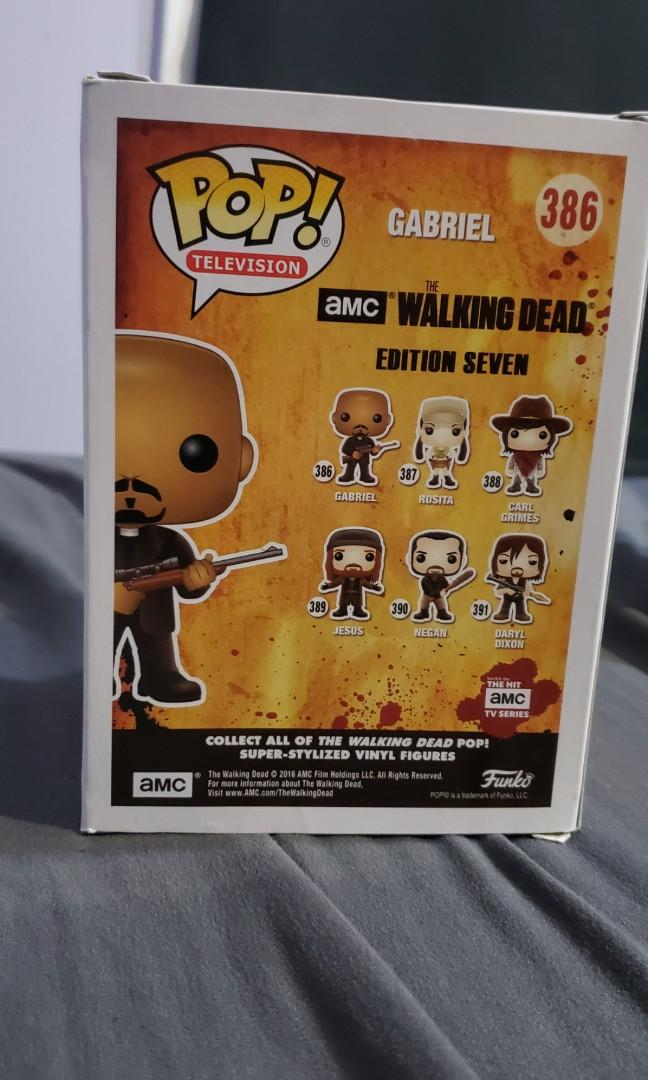 Funko POP Television: The Walking Dead - Gabriel Action Figure