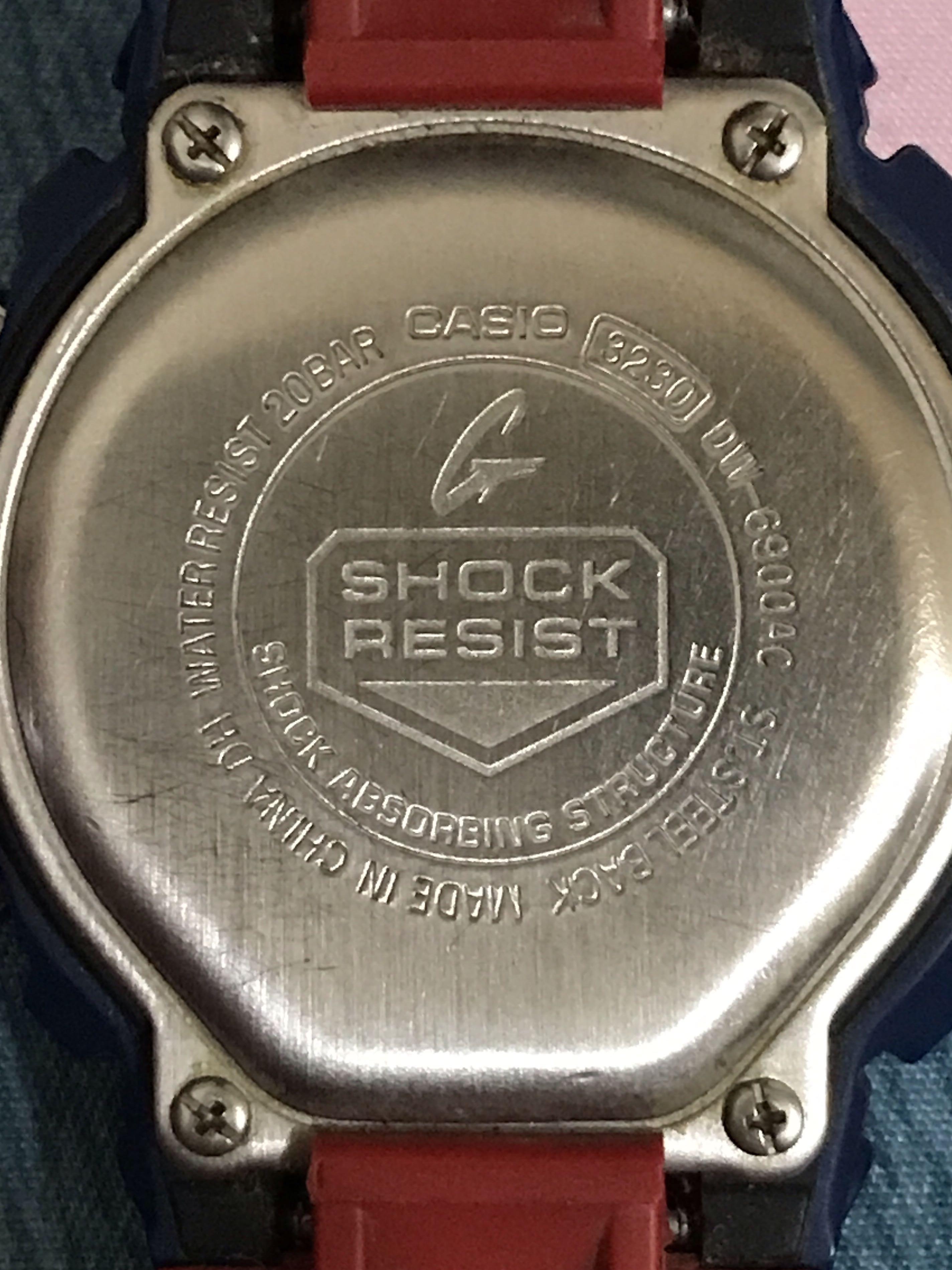 G-SHOCK手錶(美國隊長)