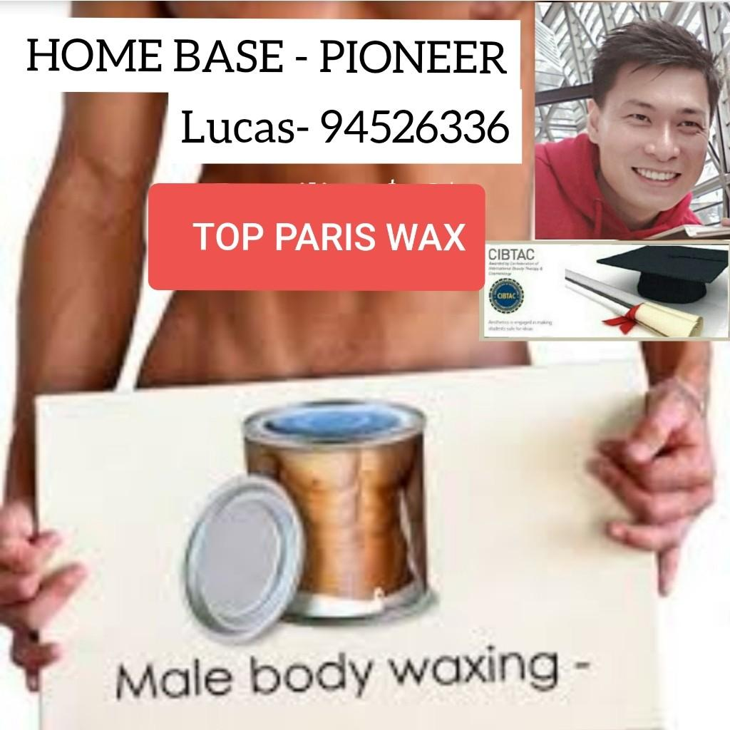 Guy Waxing Services by Lucas