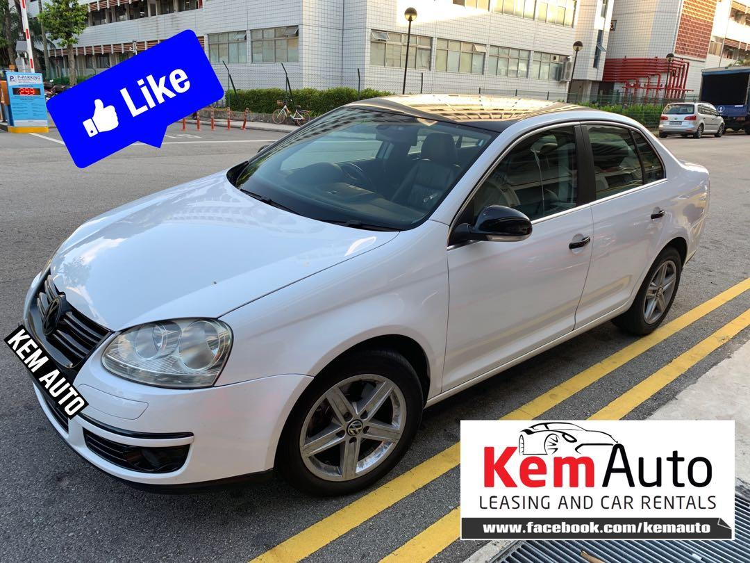 High Spec Volkswagen Jetta 1.4A Twin Charged for Rental