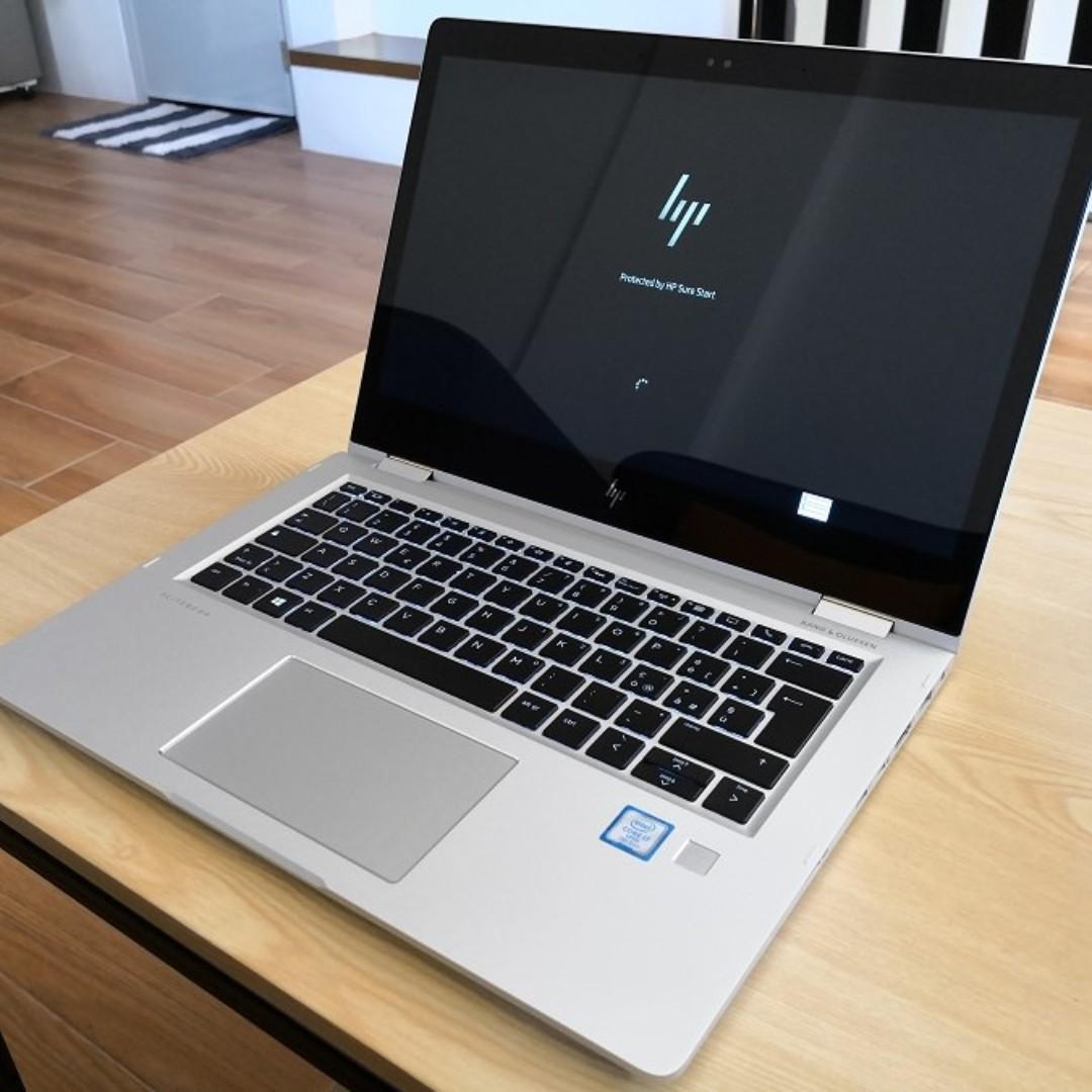 HP Elitebook X360 Core i7 7600u 16GB 512SSD Thunderbol 3 Sim