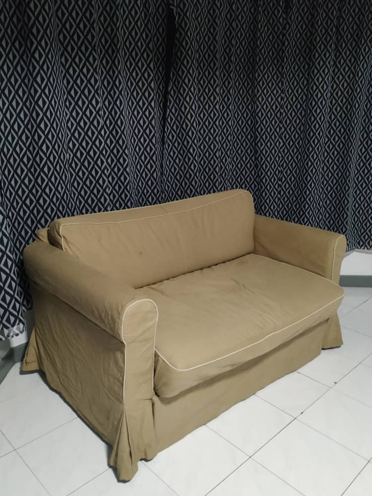 Miraculous Ikea Hagalund Sofa Bed Preloved Item On Carousell Bralicious Painted Fabric Chair Ideas Braliciousco