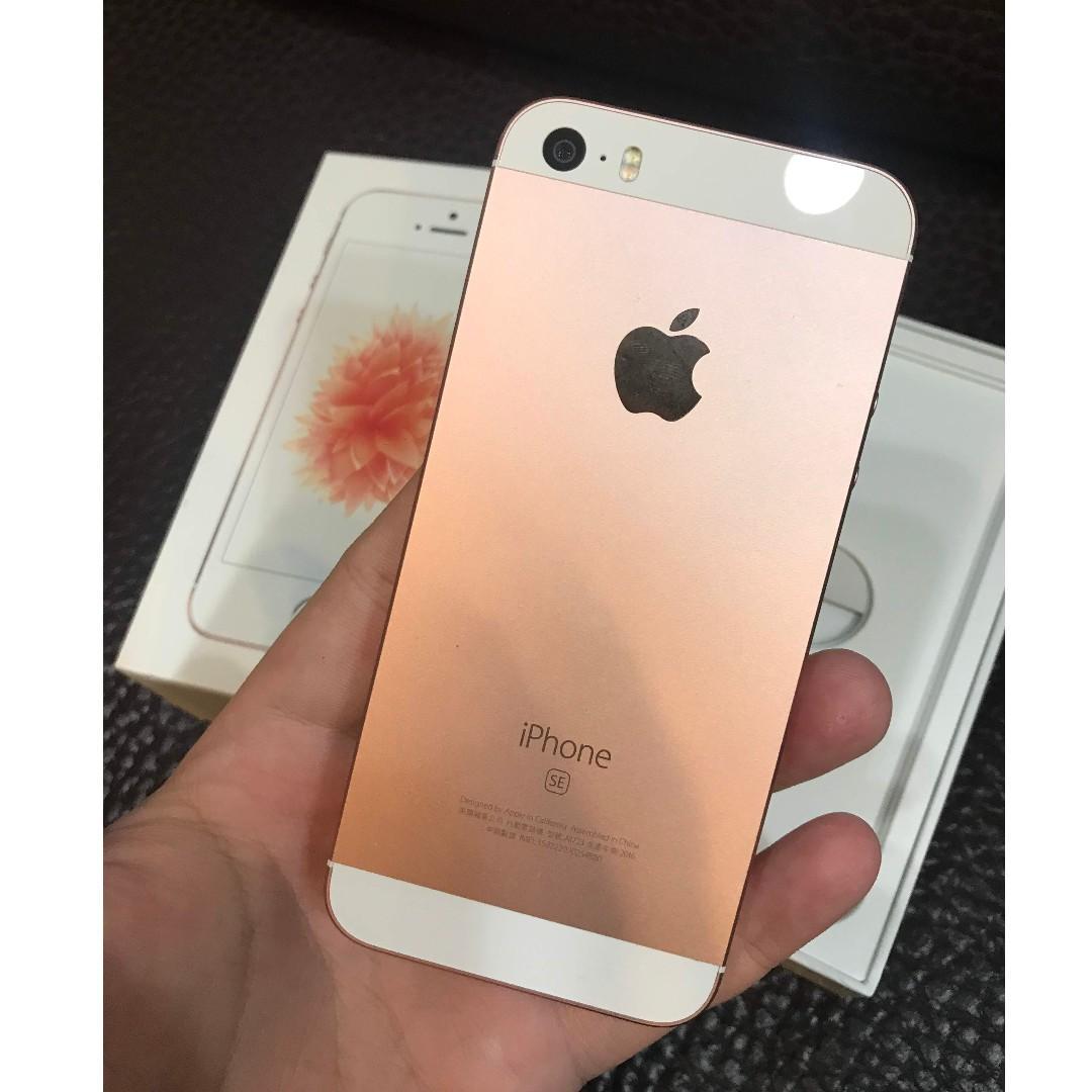 Ios10.2 Apple iphone SE 16G  功能正常 台北面交