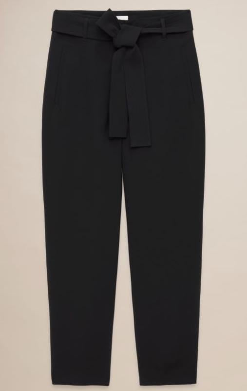 Jallade/Tie-front Pant (Wilfred, size 2, colour: Noble)