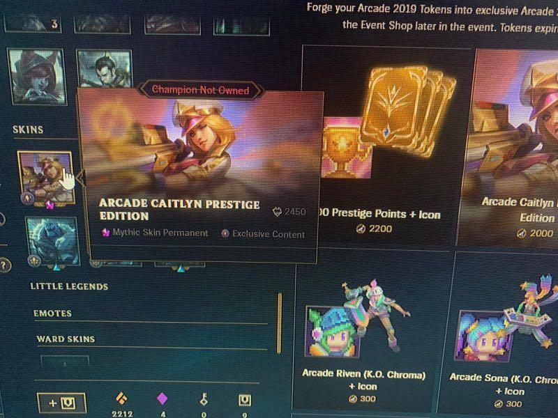 League Of Legends Account, Toys & Games, Video Gaming, Video