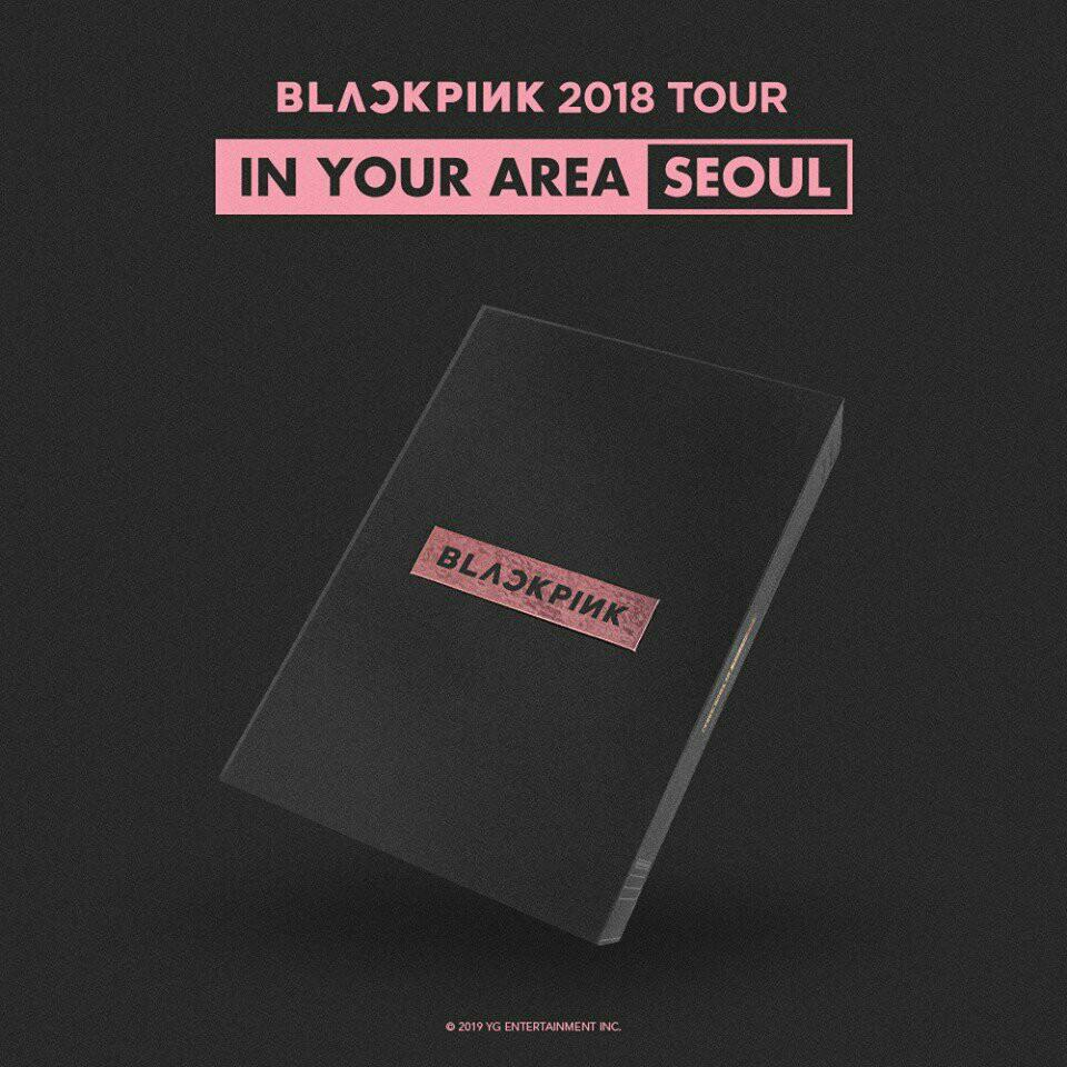 LOOSE ITEM BLACKPINK 2018 TOUR IN YOUR AREA SEOUL DVD
