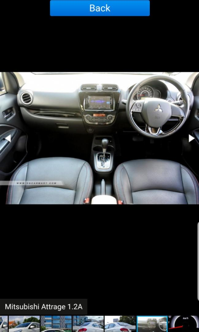Mitsubishi Attrage 1.2 Sports CVT Auto