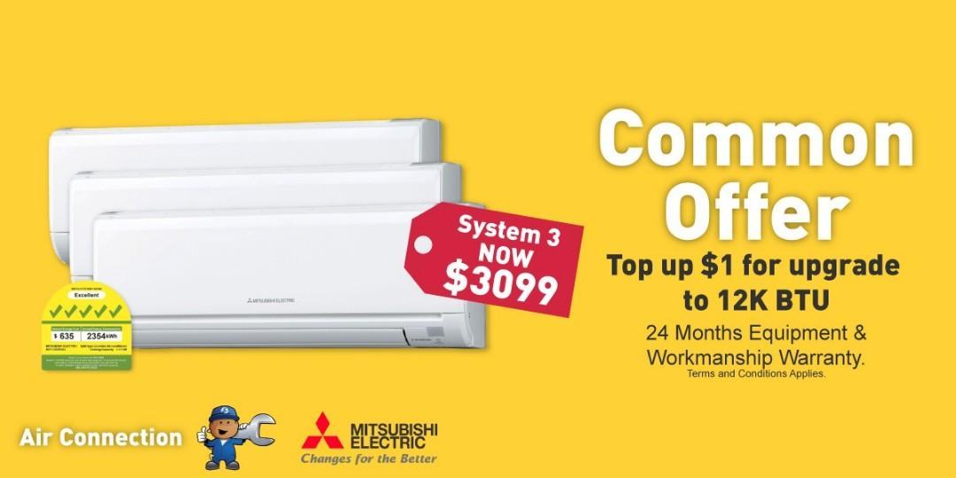 Mitsubishi Starmex Aircon System 3