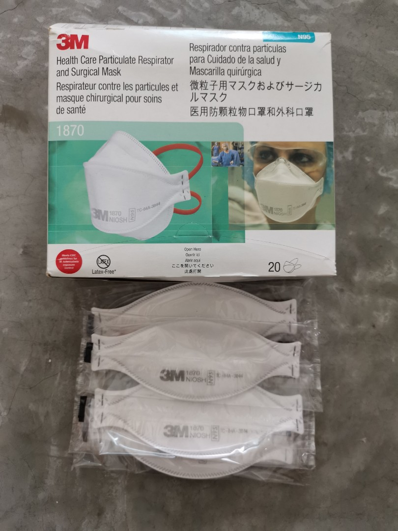 Sealed N95 New X Mask Carousell 3m On 20pcs