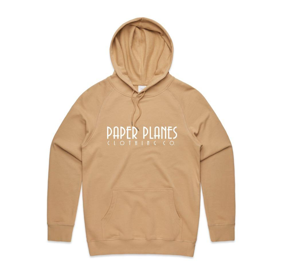 NEW Mens Paper Planes Clothing Co. 100% premium Hoodie