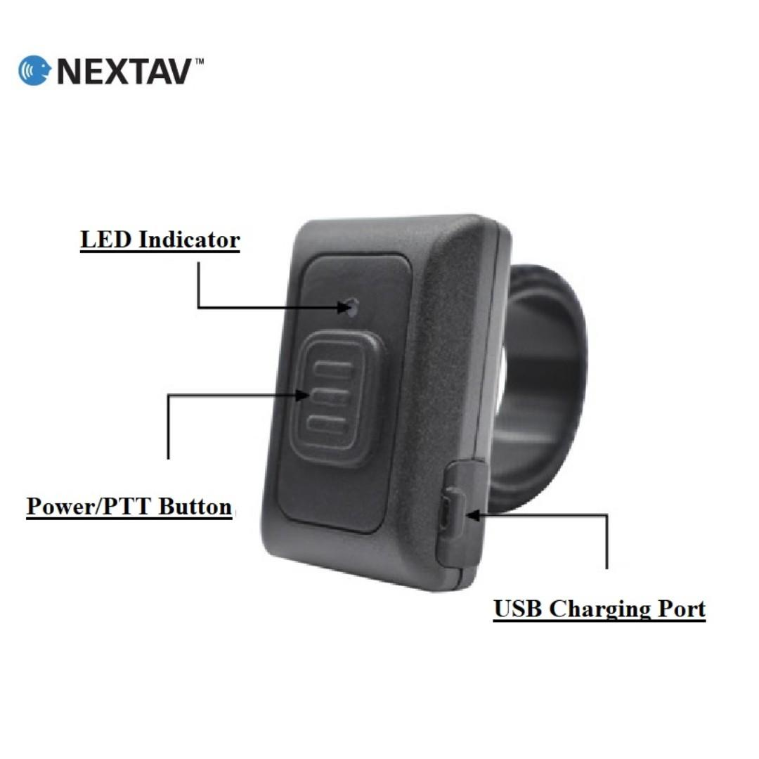 NEXTAV ZelloWork Zello PTT Button for iPhone iOS Android