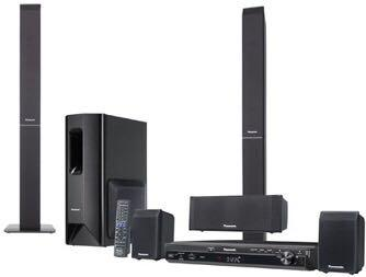 Panasonic DVD home theatre system 5.1 wireless surround speakers very good condition