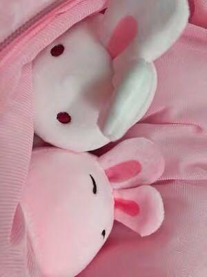 P.O. Japan Imported Cute Kawaii set of two bunnies rabbit bunny