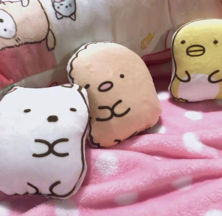 P.O. Japan Imported Sumikko Gurashi set of 3 soft toys
