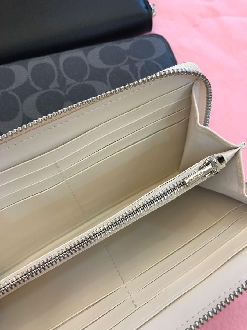 Ready Stock Authentic coach limited edition wallet purse leather Disney Kate spade wristlet