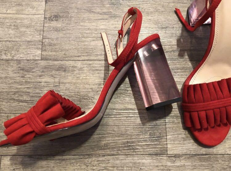 Red heels urban outfitters