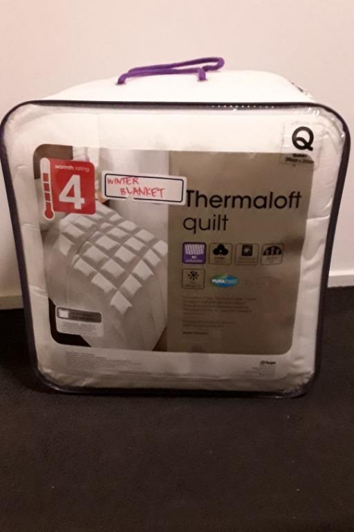 Target Thermaloft Polyester Quilt - High Warmth Rating BNIB