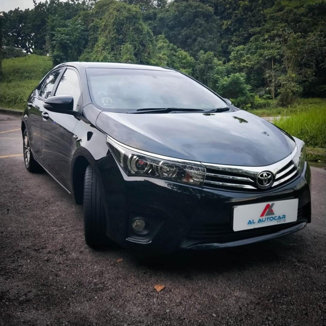 Toyota Altis for short/long term rental. Phv usage from $430 weekly.Gojek $150 rebates .Contact us at 88115335
