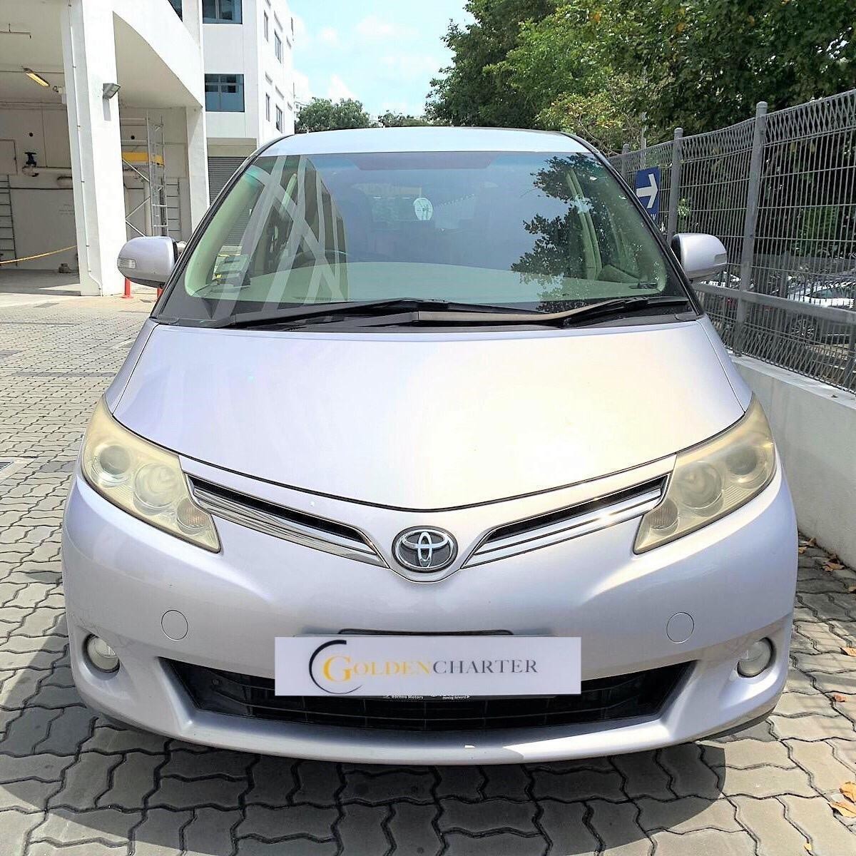 Toyota Previa Cheapest rental GoJek Grab or Personal Use