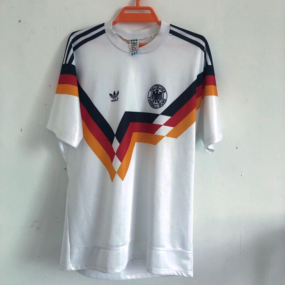 check out 5dcbd 07286 Vtg jersey West germany 1989/1990 world cup winning, Men's ...