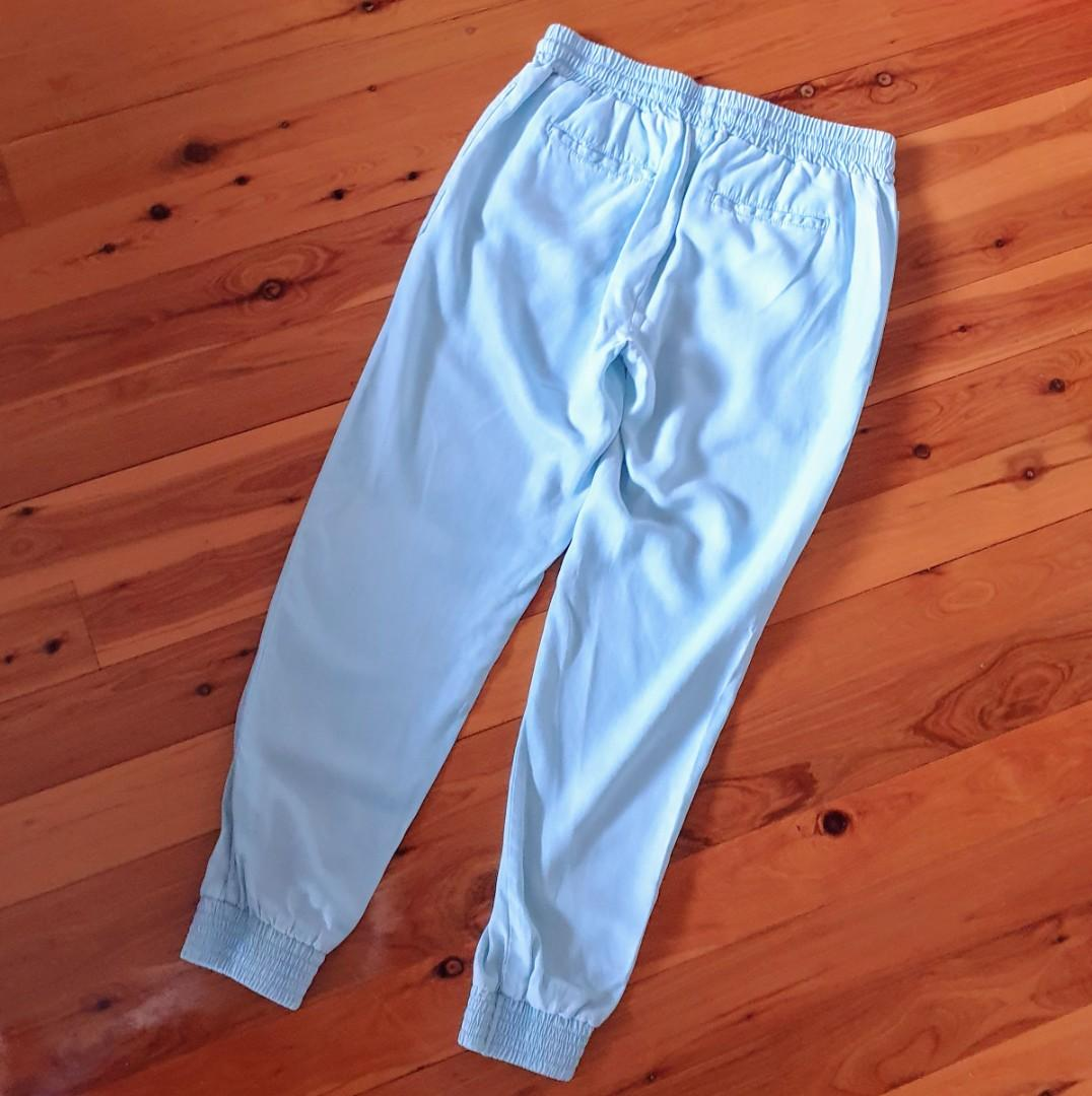 Women's size 10 'SEED HERITAGE' Stunning washed denim elastic band pants - AS NEW
