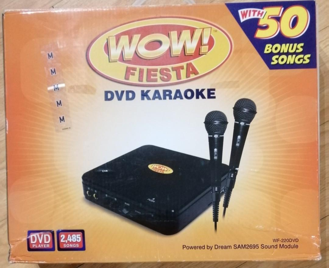 WOW Fiesta DVD Karaoke on Carousell