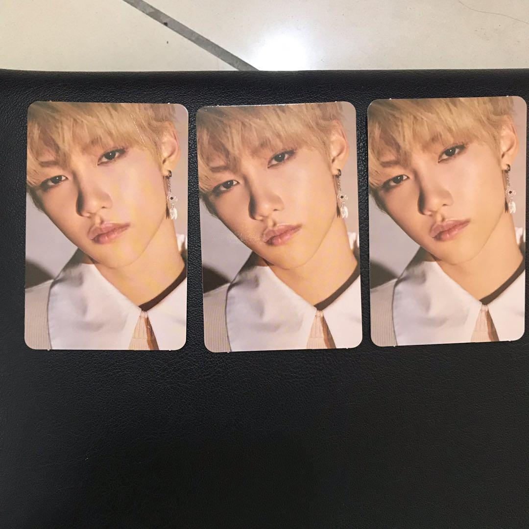 [WTS] Stray Kids Felix Yellow Wood Official Photocard