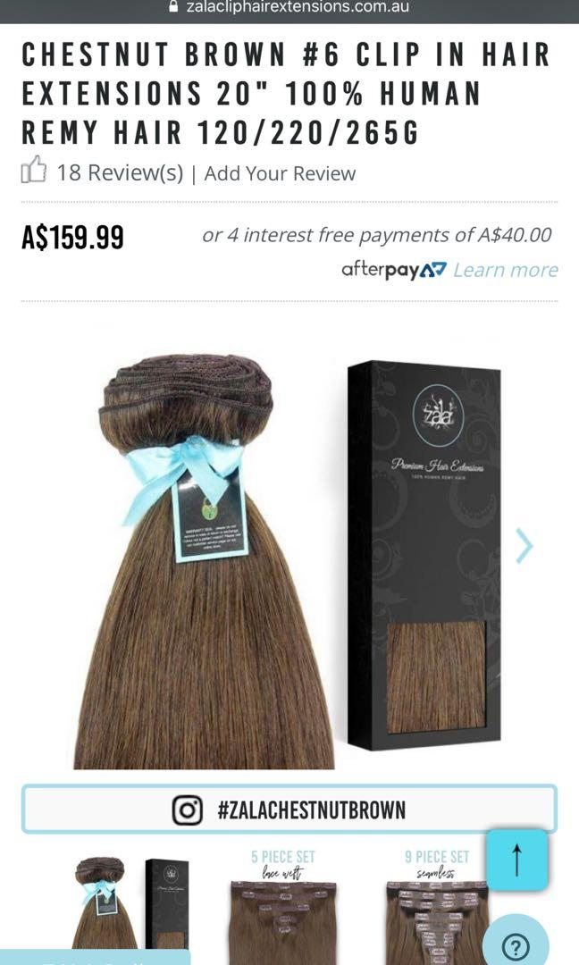 "ZALA Hair Extensions 120GR 20"" Inch"