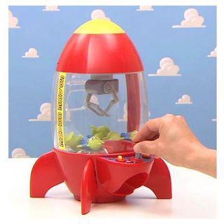 日本限定夾娃娃機「三眼怪火箭」迪士尼玩具總動員Toys 親子遊戲~安全玩具