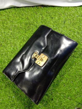 Gucci clutch leather vintage