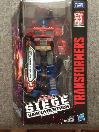 Transformer Siege - Optimus Prime