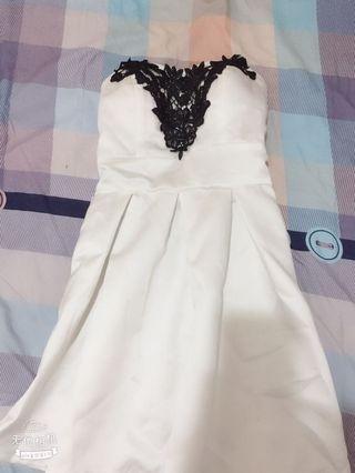 白色小禮服