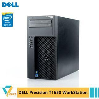 Core i7 up to 32GB RAM 1TB SSD Dell Precision T1650 workstation tower Desktop PC Quadro K600 also 480GB gaming PC