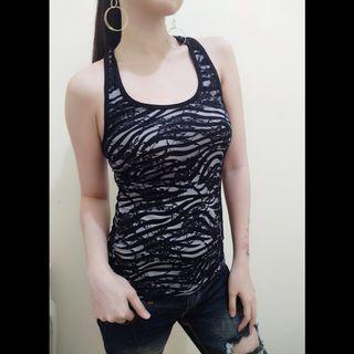 TANKTOP COTTON MIX BROKAT