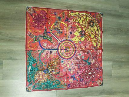 Hermes Carre Twill scarf