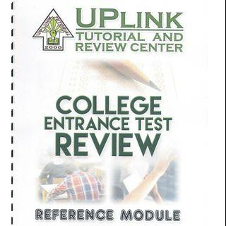 reviewer entrance exam | Books | Carousell Philippines