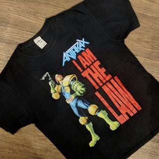 ANTHRAX - I AM THE LAW OFFICIAL MERCH