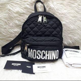 Very Good Condition MOSCHINO Backpack Nylon SHW