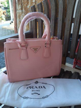 Tas Prada Bag Baby pink Free Ongkir