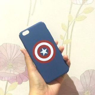 New hardcase iphone 6/6s captain america