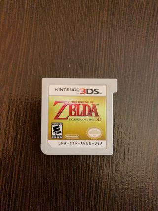 Legend of Zelda Ocarina of Time 3DS Game
