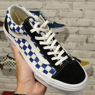 Vans 36 Checkerboard Golden Coast