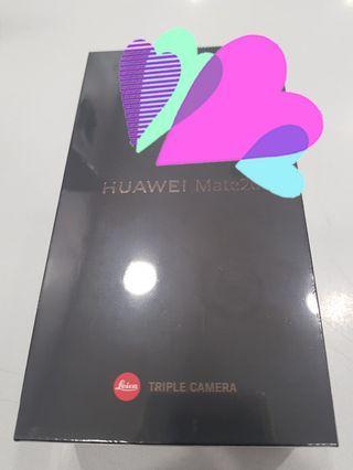 Huawei Mate 20 128GB / 6GB RAM black/blue (NEW)
