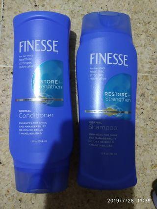 Finesse shampoo Dan conditioner