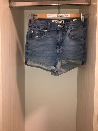 Garage High Waisted Denim Shorts (Size 03)