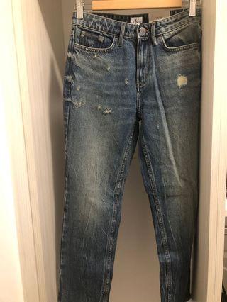 Calvin Klein Straight Jeans (Size 26)